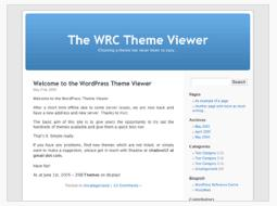 WordPressのバージョン2系のデフォルトテーマ「Kubrick」
