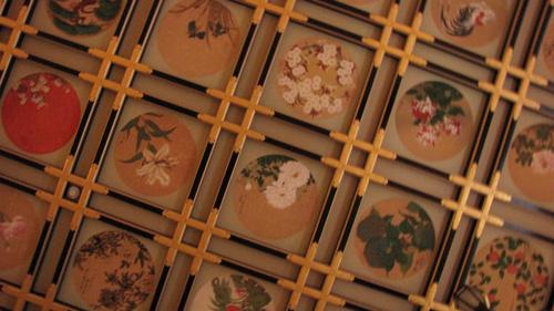 永平寺の傘松閣の天井絵